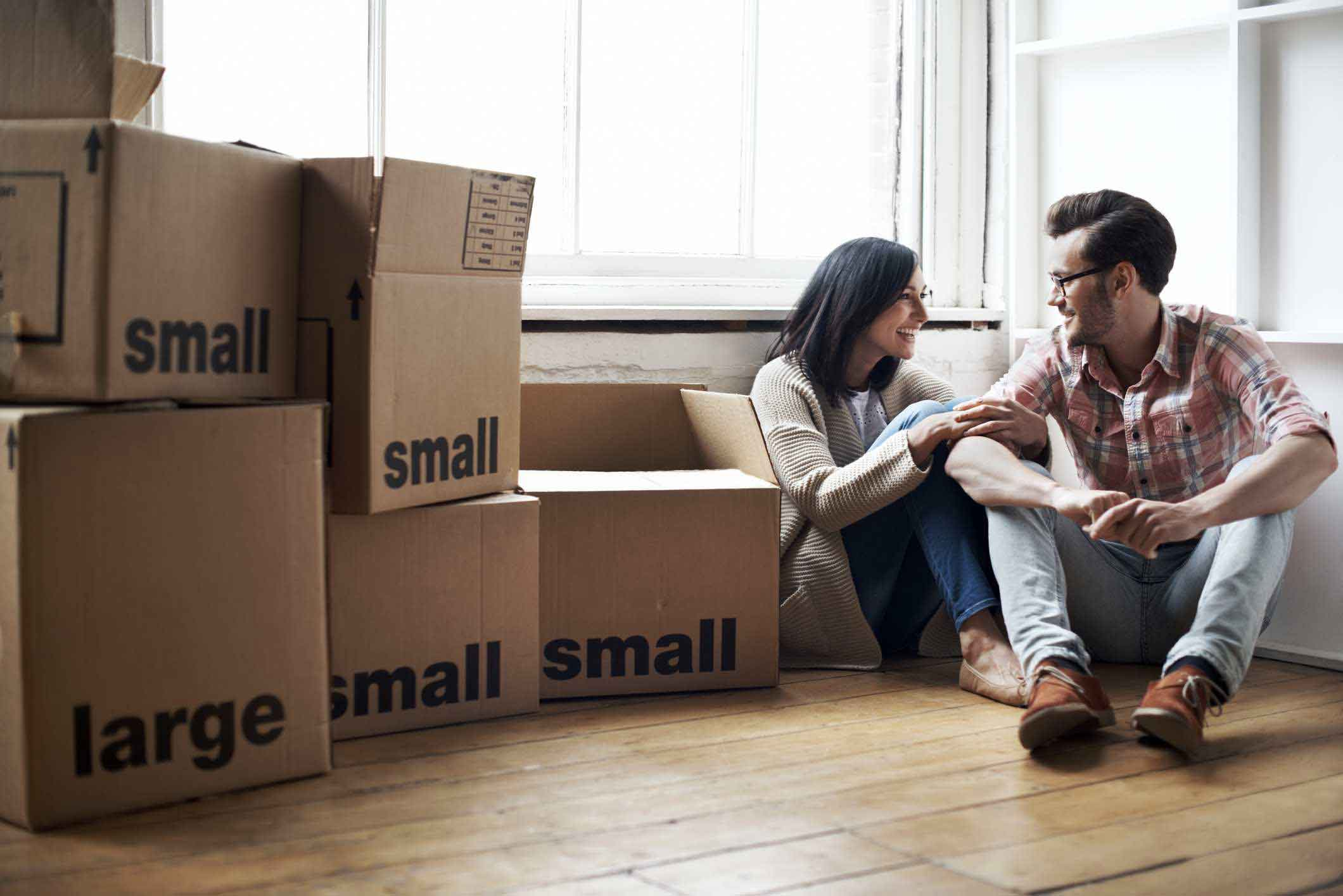 What should I expect on moving day?